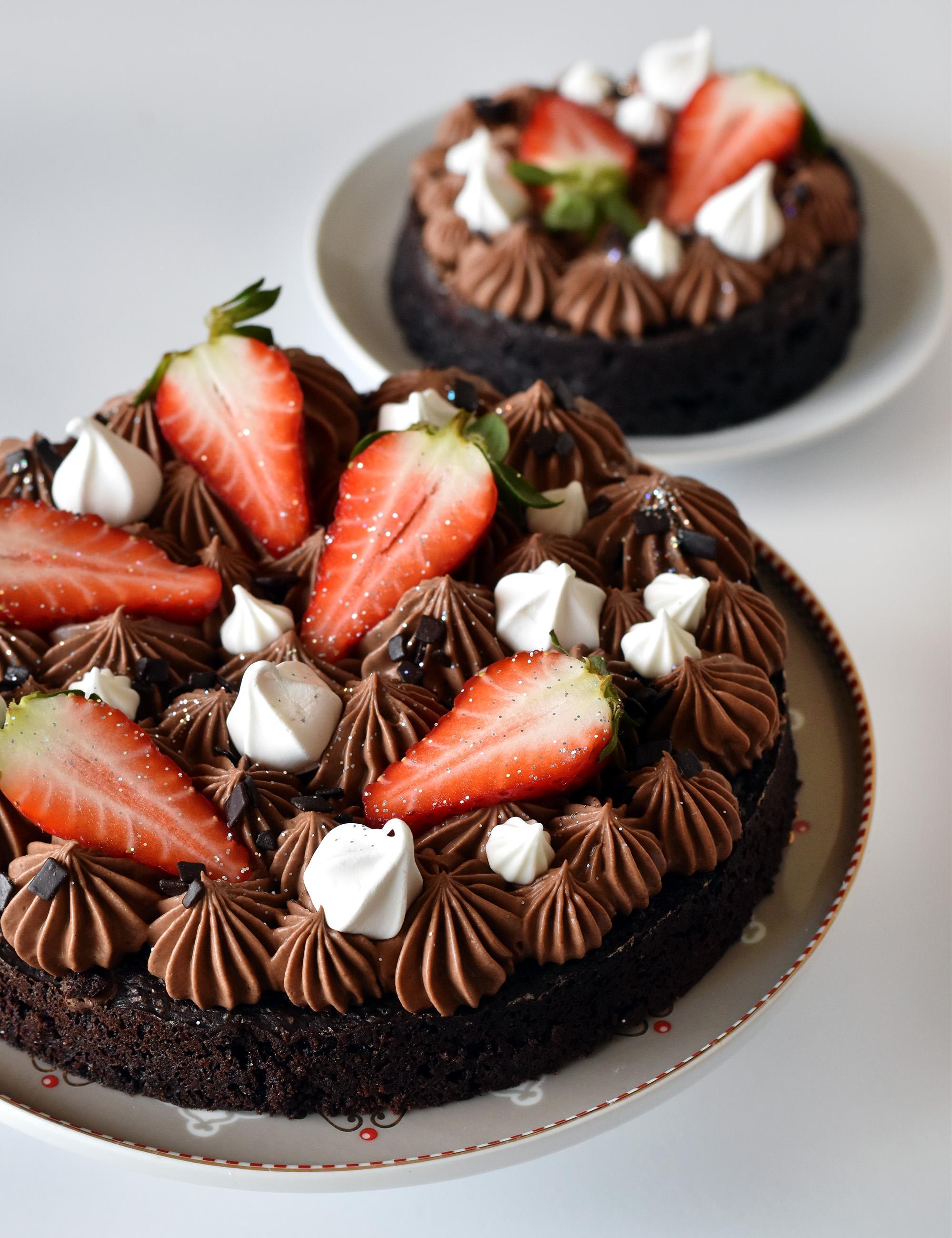 עוגת בראוניז שוקולד