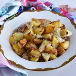 תפוחי אדמה בתנור או: הום פרייז בלי רוטב