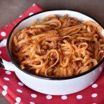 ספגטי בולונז הכי טעים בעולם
