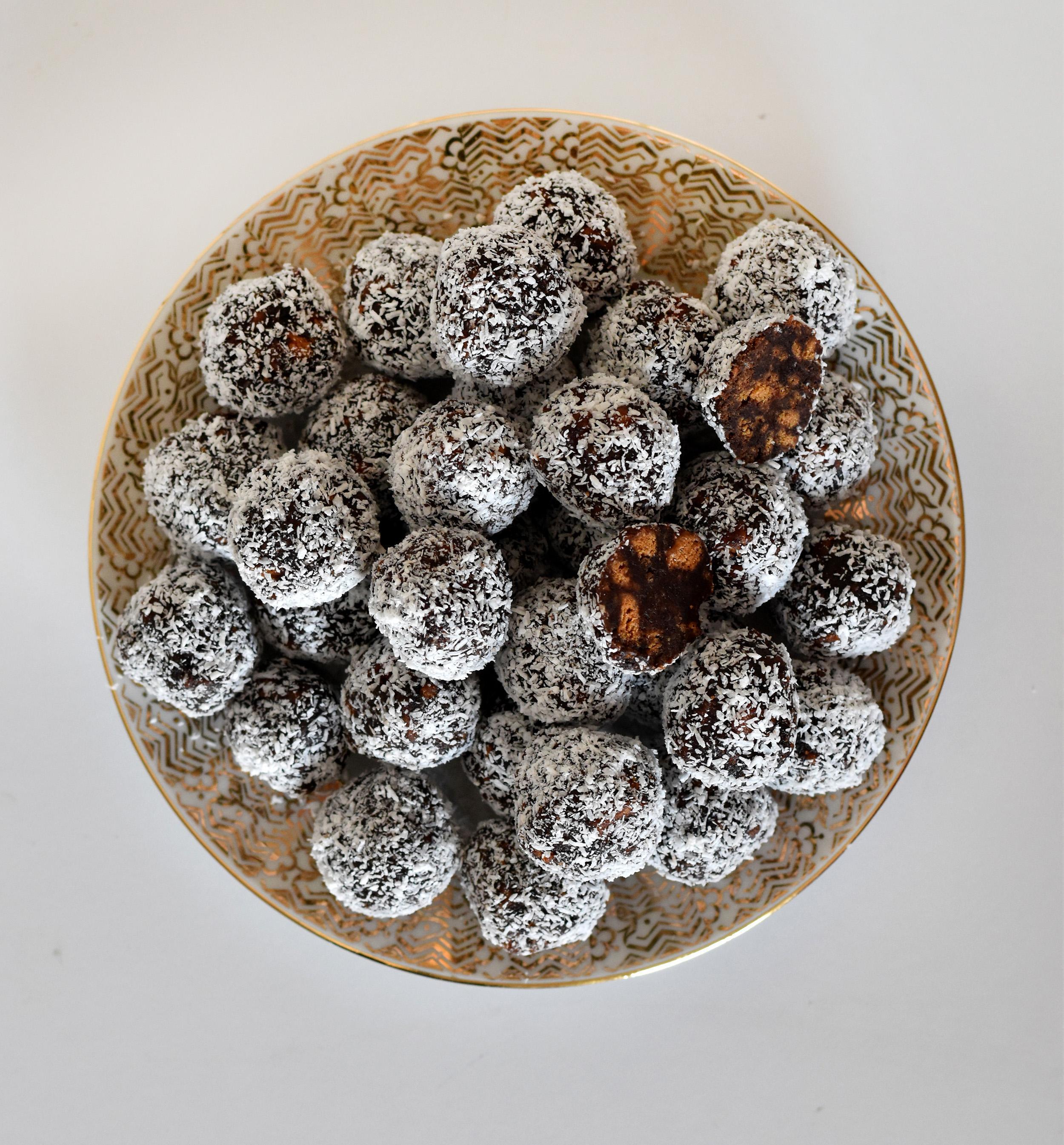כדורי שוקולד ולוטוס