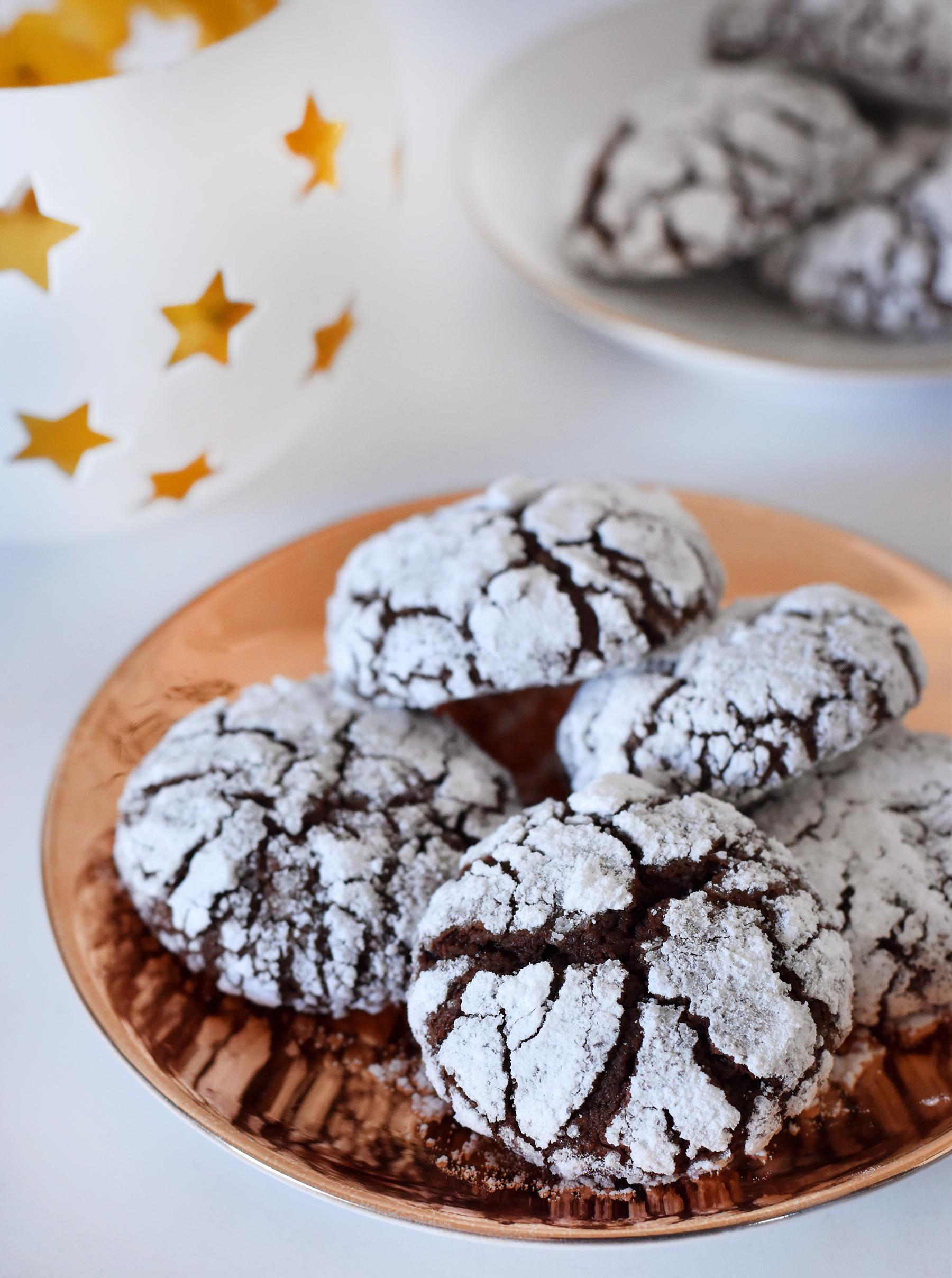 עוגיות שוקולד וחלבה