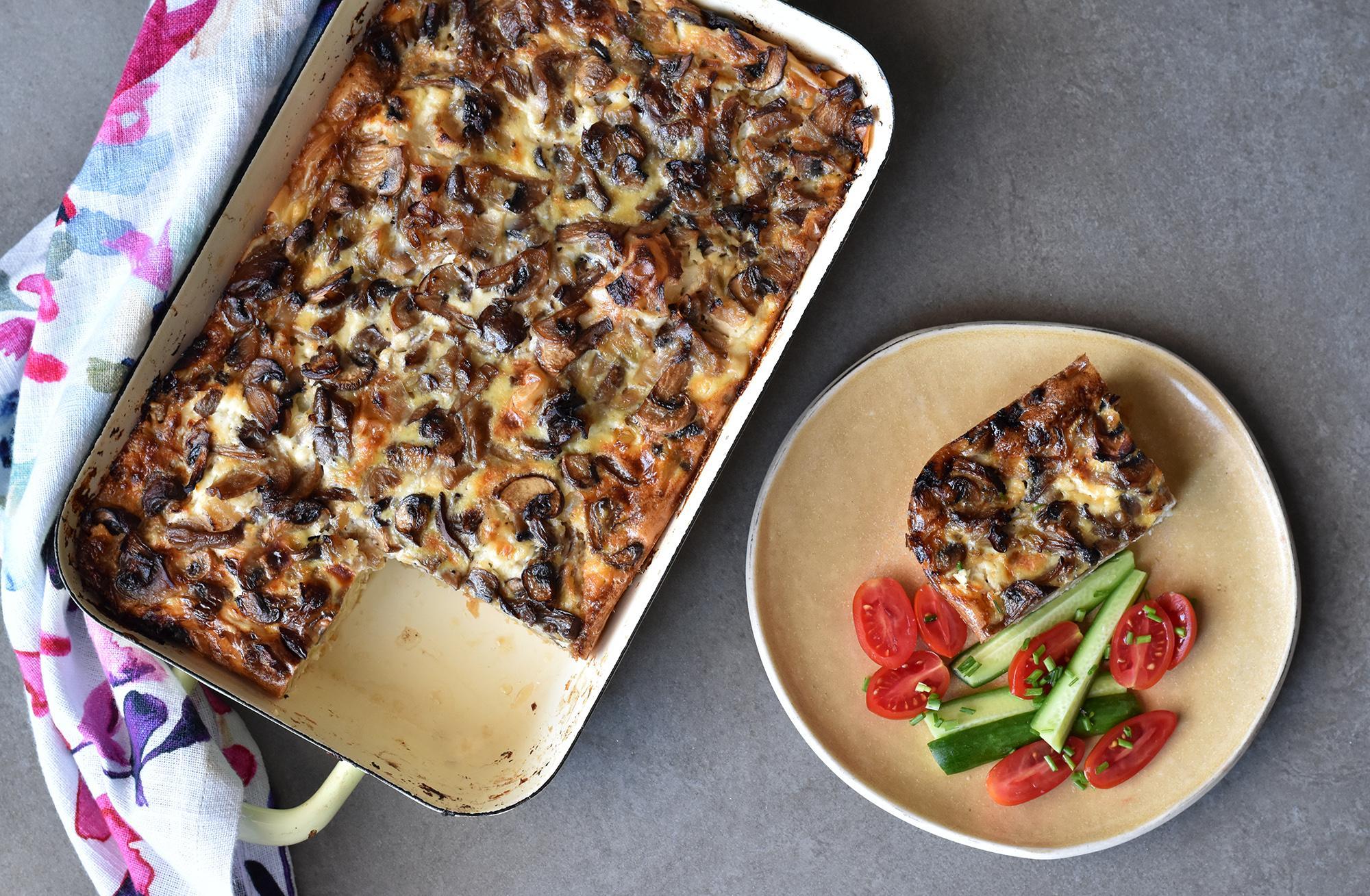 בניצה גבינות ופטריות