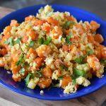 אורז כרובית עם ירקות כתומים (אתגר פלאו)