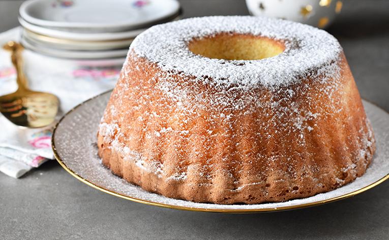המתכון מספיק ל-2 עוגות כאלה. ותראו איזה גבוהה היא יוצאת!
