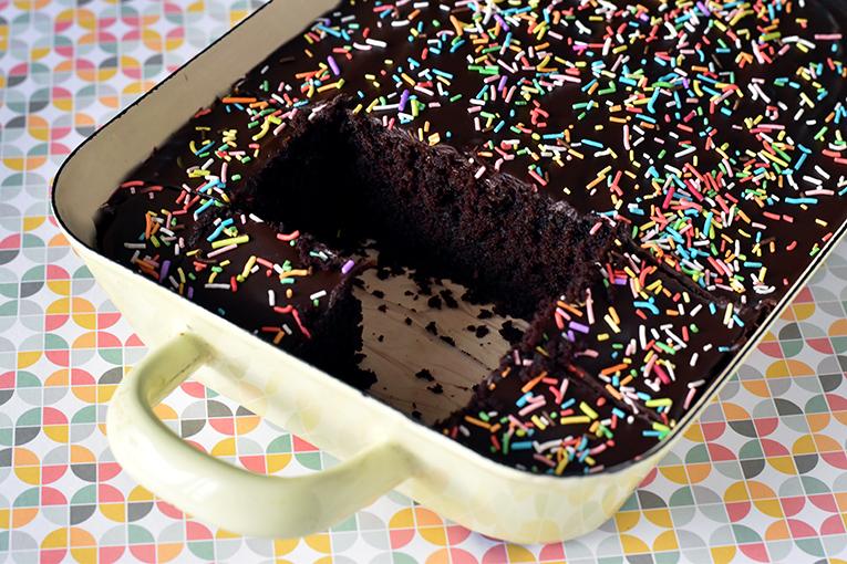 הלוואי ויכולתם להרגיש דרך המסך כמה העוגה הזאת נמסה בפה