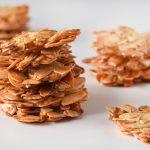 קריספיות שקדים ותפוז - עוגיות שקדים ללא קמח