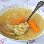 מרק עוף וירקות של סבתא