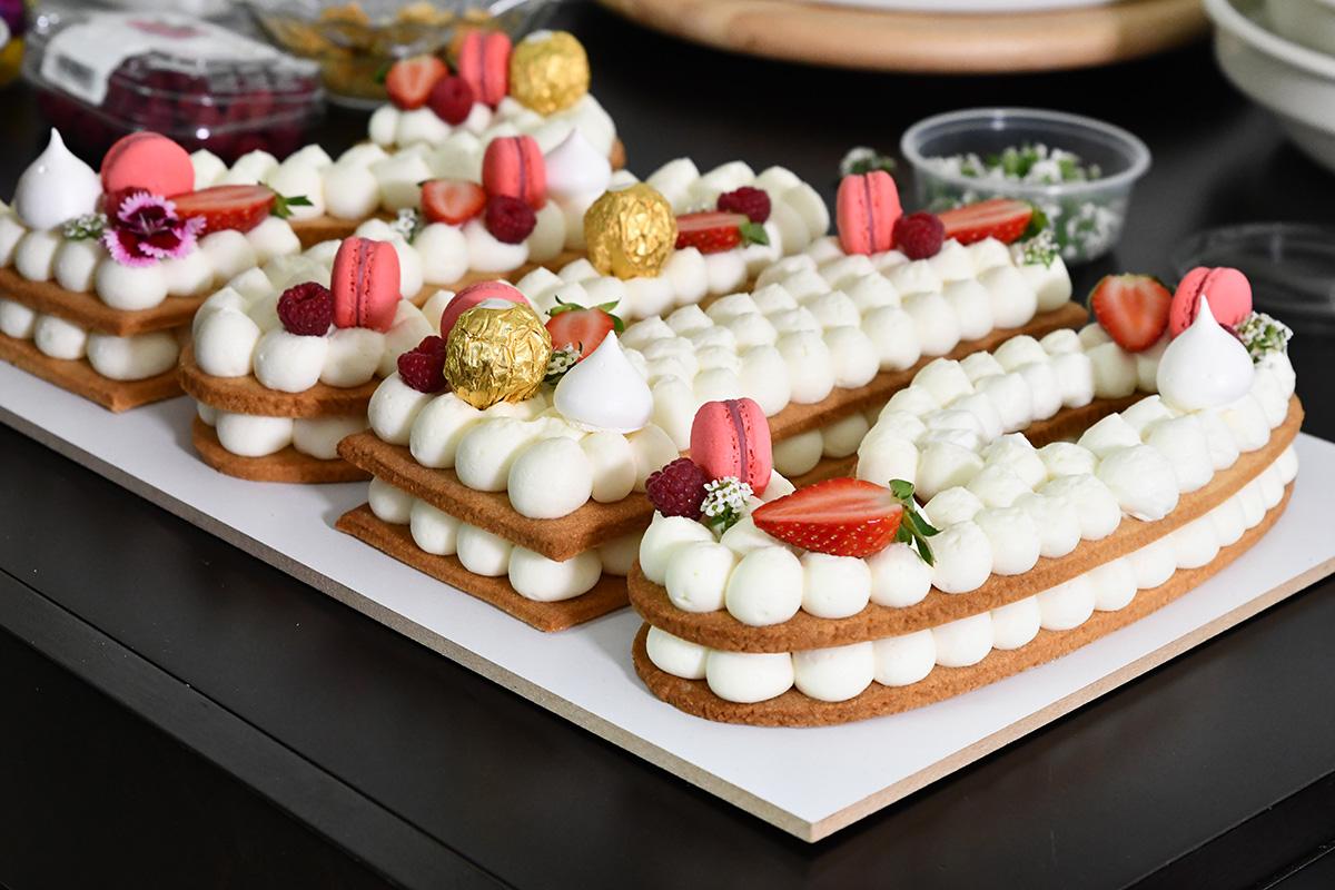 עוגת מספרים - מאחורי הקלעים