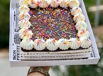 עוגת ביסקוויטים. צילום: עדי כהן