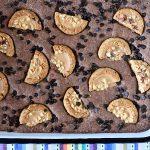 בראוניז שוקולד עם עוגיות