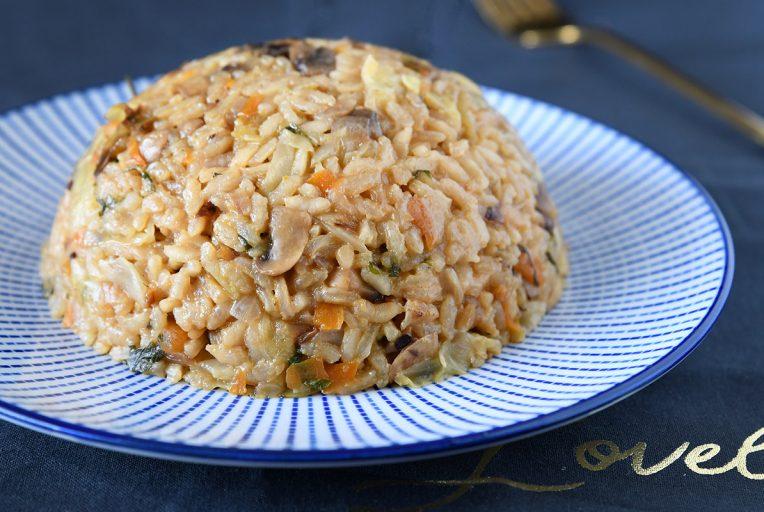 כמו ריזוטו - אורז עגול עם ירקות
