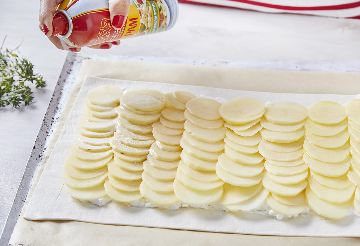 טארט גראטן תפוחי אדמה