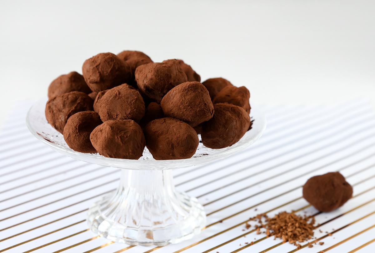 טראפלס שוקולד וקפה