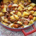תבשיל פרגיות ותפוחי אדמה