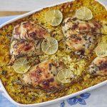 ארוחה בסיר אחד - עוף ואורז עם צנוברים וגזר. צילום: אפיק גבאי