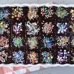 עוגת שוקולד קוביות