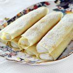 בלינצ'ס במילוי גבינה מתוקה