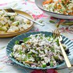 סלטי ירקות טעימים במיוחד