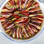 מניפת ירקות בתנור