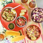 סלטים מהמטבח המקסיקני