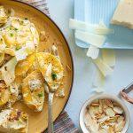 רביולי גבינה ברוטב ארטישוק. צילום: טל סיון צפורין