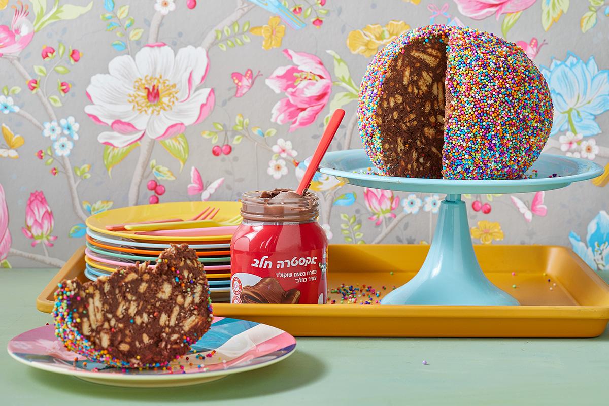 עוגת כדור שוקולד. צילום: טל סיון צפורין