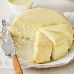 עוגת גבינה אפויה מושלמת. צילום: דן פרץ. סטיילינג: נורית קריב