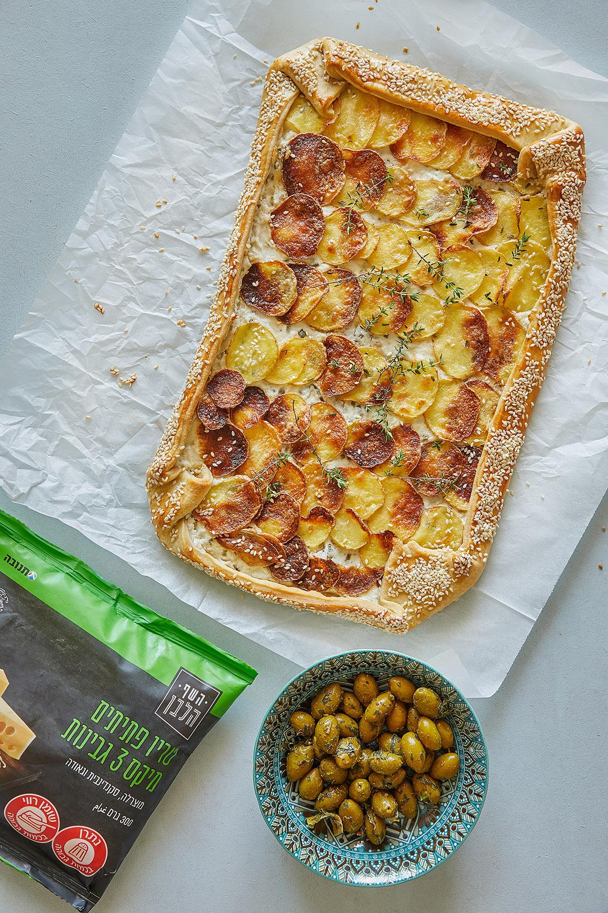 גאלט תפוחי אדמה מדורה עם גבינות. צילום: טל סיון צפורין