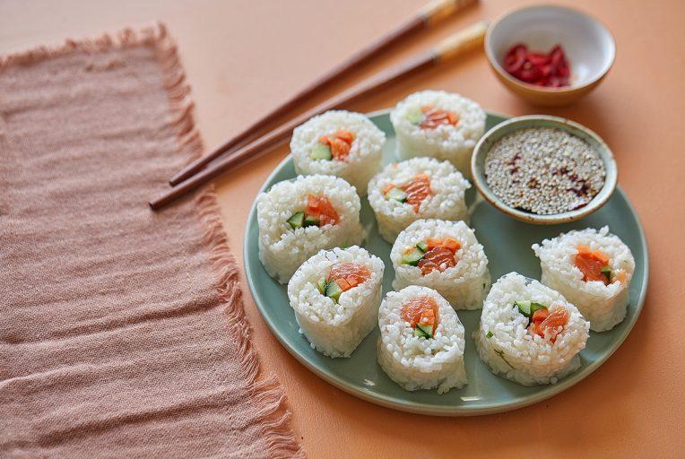 סושי דפי אורז. צילום: טל סיון צפורין