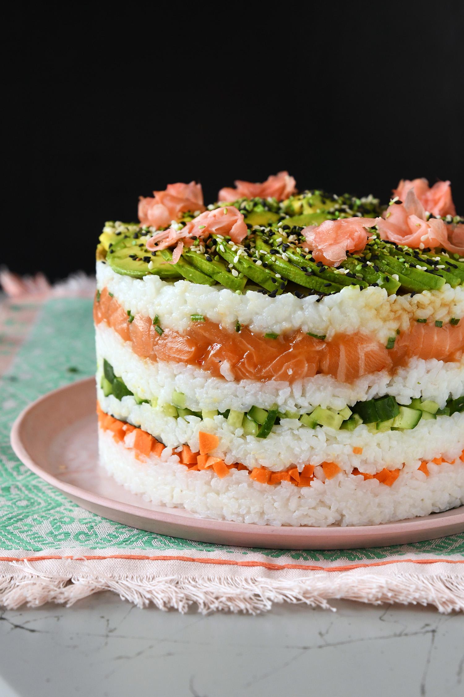עוגת סושי