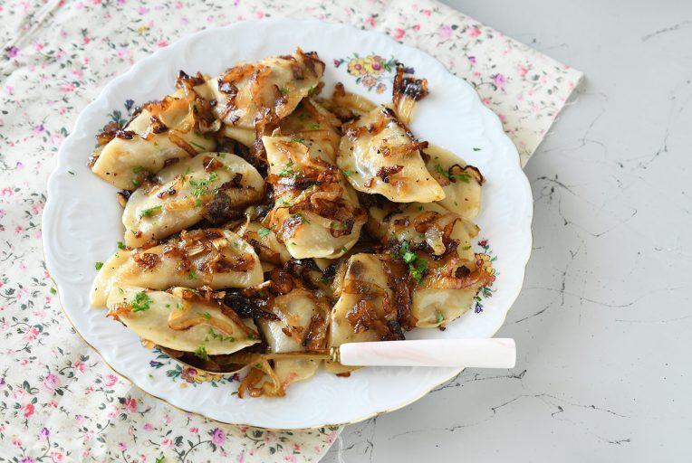 קרפלך במילוי תפוחי אדמה ובצל מטוגן